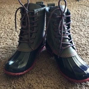 G. H. Bass & Co. Duck Boots and 6